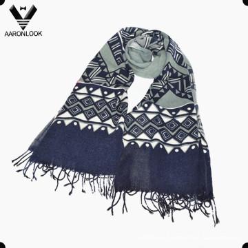 Леди Мода Геометрия Печатный шарф