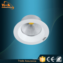 Plane Inclined Aluminum Ring & Simple Type 10W COB Downlight