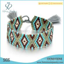 Art und Weisearmbänder für Frauen, Vintages Schichtung böhmische Armbänder