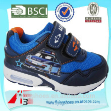 high heel china boys sports shoes attached cartoon police car