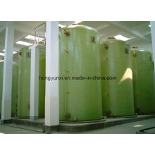 Tanque de FRP na fermentação de alimentos ou indústria de fabricação de cerveja