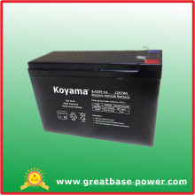 12V 7ah Electric Battery for Vehicle
