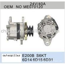 Генератор для E200B Гусеница,экскаватор замену деталей