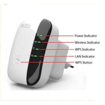 Repetidor 300Mbps Wireless-N WiFi repetidor 802.11n Router Ap Repetidor Puente