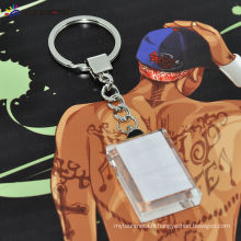 Sublimation Rectangle Cystal Keychain BSK05