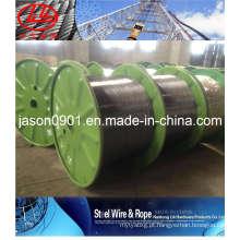 Fio de aço do cabo óptico (fábrica)