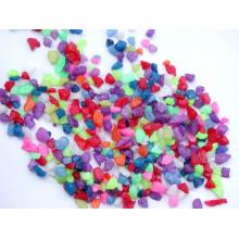 Llenador de vidrio de arena de vidrio coloreado