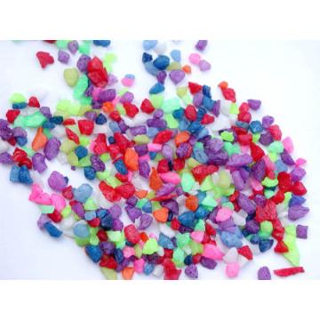 Farbiger Glas Sand Vase Filler