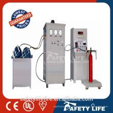 Máquina automática do reenchimento do extintor de fogo for sale