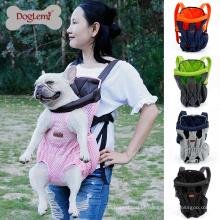 Doglemi Frente Peito Ao Ar Livre Malha Pet Dog Cat Transportadora Mochila Bag