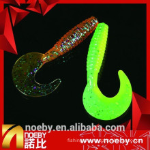 NOEBY TWISTER TAIL artificial plastic soft grub fishing lure