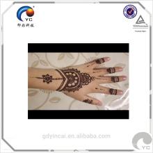 Индийская хна трафарет татуировки наклейки, мода дизайн и высокое качество с низкой ценой