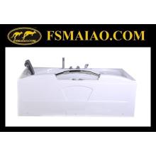 Bañera de masaje de acrílico del cuarto de baño de la nueva manija del diseño (BA-8723)