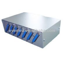 Caja de conmutación de datos manual DB25 6Port (ERC368)