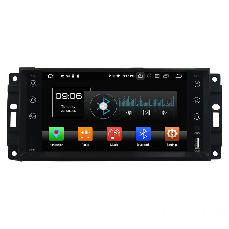 Android 8.1 OS Multimedia Player for Wrangler 2010 (1)