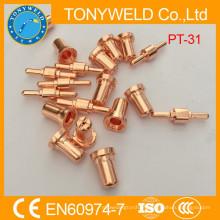 PT31 Bocal e eletrodo de peças sobressalentes de corte por plasma
