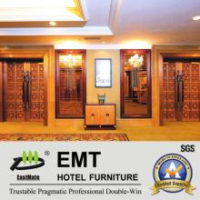 Panel de pared interior de lujo del hotel del diseño (EMT-F1214)