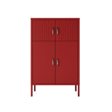 New arrival modern furniture metal sideboard buffet cabinet colorful  steel cabinet storage for home