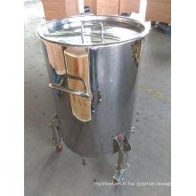 Barils à vin en acier inoxydable 200L avec roues