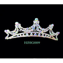 most popularized sold on alibaba alloy tiara princess party tiaras set drill crown tiaras cheap crowns