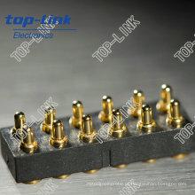 12 Pogo Pin conector com mola carregada (boa qualidade, melhor preço)