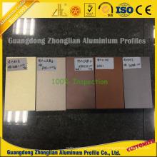 Perfil de alumínio colorido eletroforético para a janela de correr e a decoração da porta