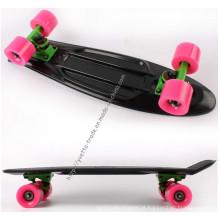 Skate preto com padrão Ce (YVP-2206)