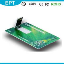 Cheap Card Shape Pen Drive para la promoción