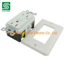15A American Socket Electrical GFCI Receptacle Outlet