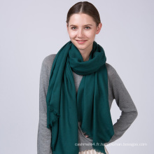 Haut de mode en gros 100% laine foulards pour les filles