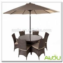 Audu Summer Garden Set,Summer Park Garden Set With Umbrella Cover