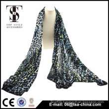 2015 printed multi colored leopard lady scarves viscose
