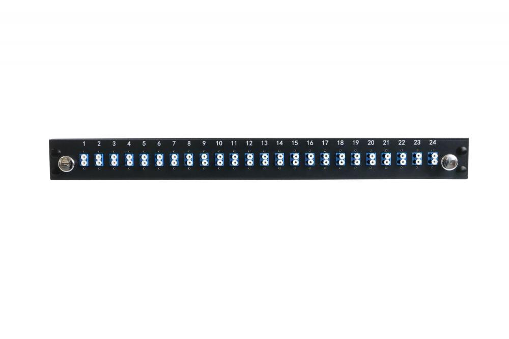 24 Core Fiber Optic Patch Panel