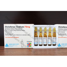 Injection de sodium Diclofenac