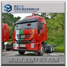 430HP Hongyan Gelyon 6X4 Tractor Truck