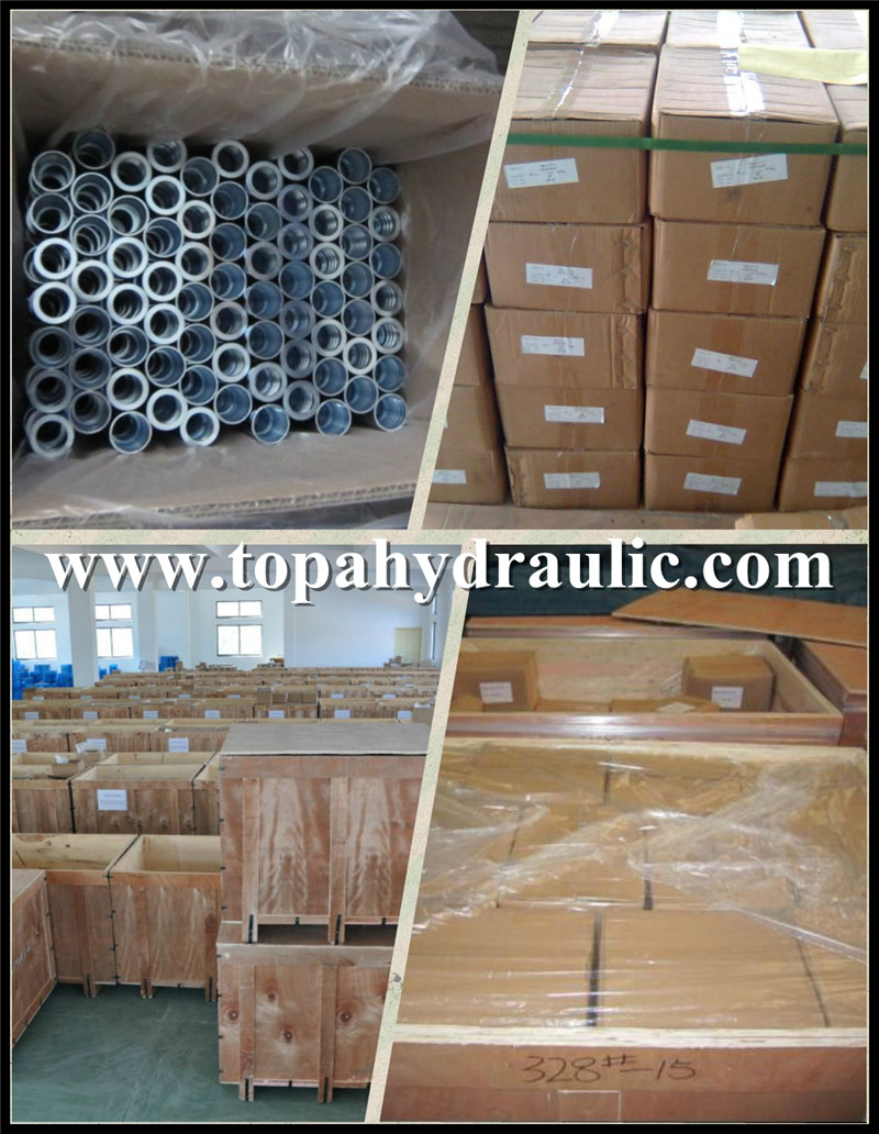 Popular brands Chrome Plate hydraulic hose crimping