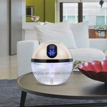 Agua Ionic arco iris luz LED de escritorio de purificador de aire