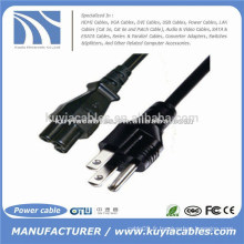 VENTE CHAUDE 3pin US OEM Computer Power CORD Cable