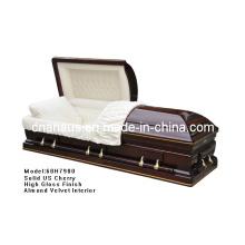 Древесина шкатулка (АНА) для похорон продукта