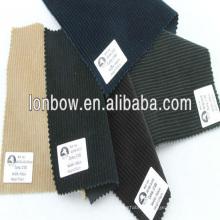 100%cotton Fine quality corduroy fabric