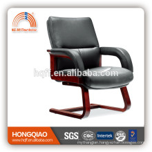 CV-F63BS leather chair wooden chair conference chair