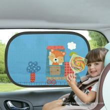 Hot Selling new 2pcs car window sunshade Car Sun Shade static cling sunshade