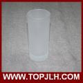 Grandes tasses 8 Oz givré de cône en verre fournisseur Chine