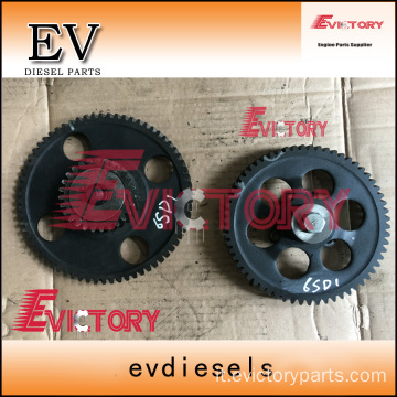 VOLVO D6E idle timing gear crankshaft camshaft gear