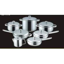 14 Sets of Stainless Steel Cookware Set