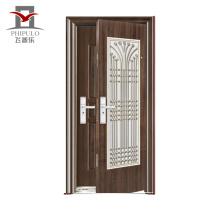Puertas de seguridad metálicas de hierro de acero. Puertas de seguridad de acero.