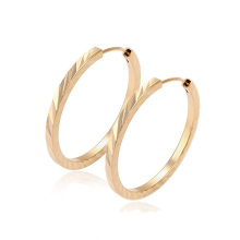 29361-Xuping Hot Sale Fashion 18K Gold Plated Hoop Earring For Women