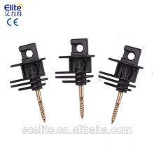 isoladores elétricos do energizador da cerca / parafuso bonde da cerca