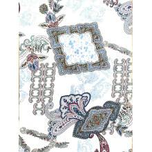 Женская блузка с принтом из вискозы Challis, новый дизайн