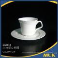 manufacturer supply elegant white china porcelain coffee mug